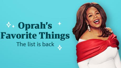 Shopping Content by CNN Underscored: Oprah's favorite things list is live on Amazon: Shop the best gifts now
