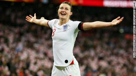 Attaccante prolifico, Ellen White ha segnato l'equalizzatore per l'Inghilterra contro la Germania, appena prima dell'intervallo a Wembley.
