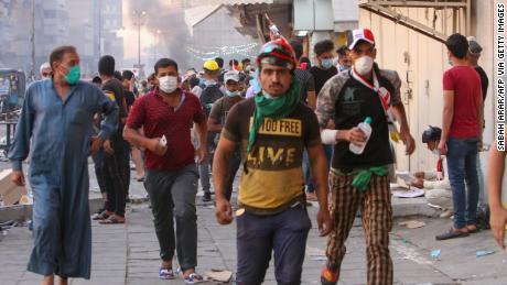 Iraq protests death toll rises