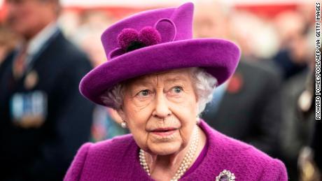 Britain's Queen Elizabeth II on November 6, 2019. (Richard Pohle/Pool/AFP via Getty Images)