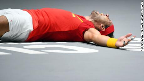 It's been a long year for Nadal, but a remarkable one.