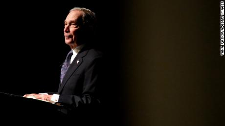 Michael Bloomberg is worth an estimated $59.5 billion, according to Forbes.