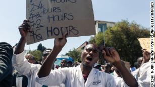 Zimbabwean billionaire pays striking doctors to return to work
