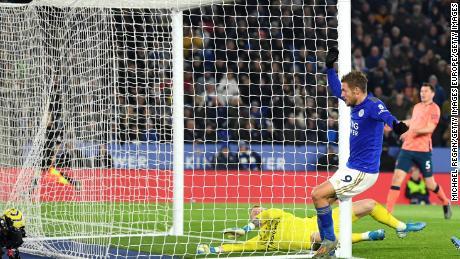 Jamie Vardy puo't smettere di punteggio per il Leicester City in questa stagione in Premier League.
