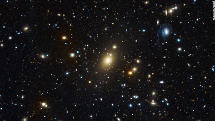 New measurements of the black hole at the center of the Holm 15A galaxy reveal it's 40 billion times more massive than our sun, making it the heaviest known black hole to be directly measured.