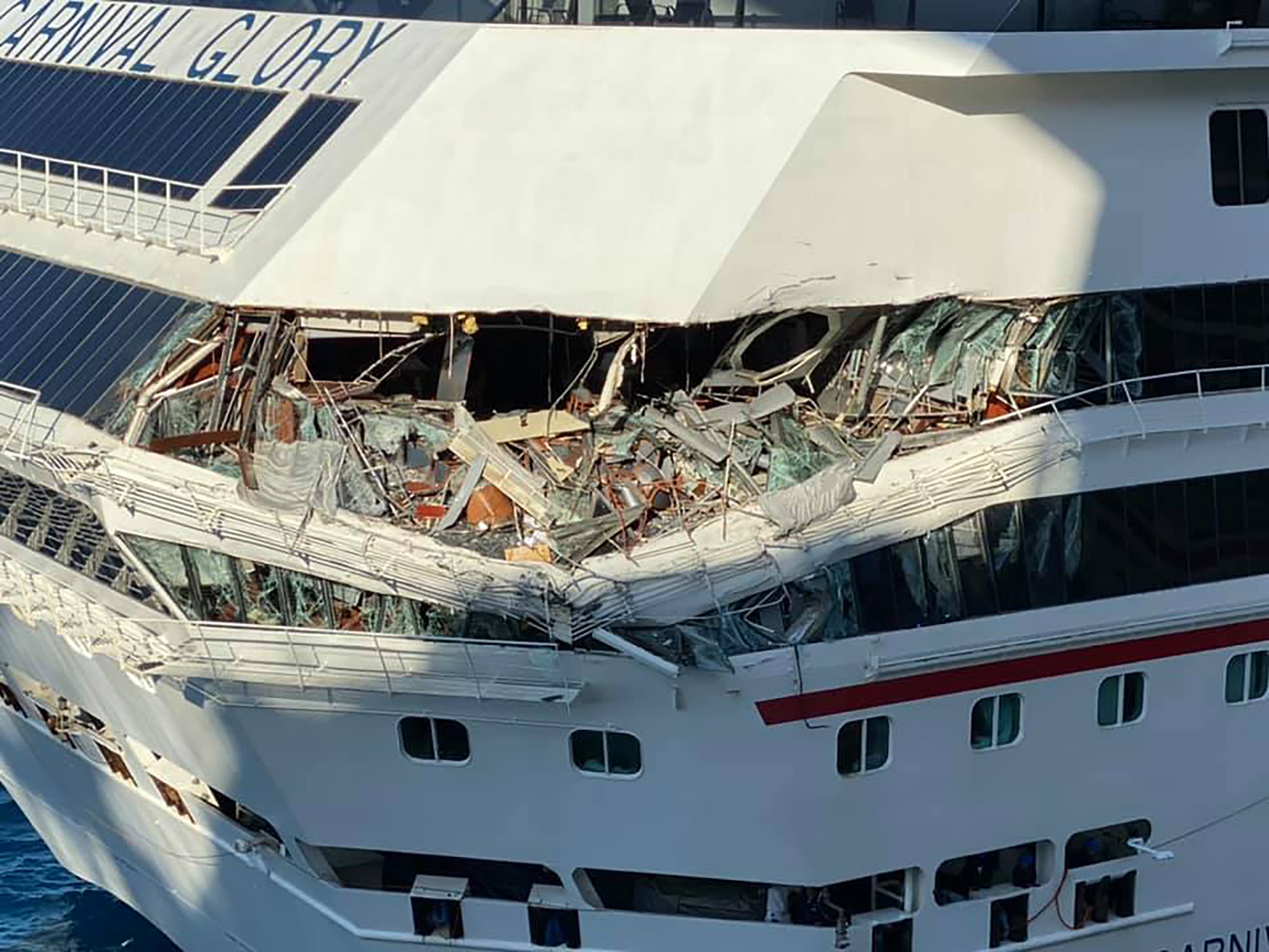 Watch two Carnival cruise ships collide - CNN Video