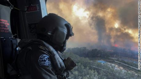 The Australian Defense Force is helping in firefighting efforts across the country.