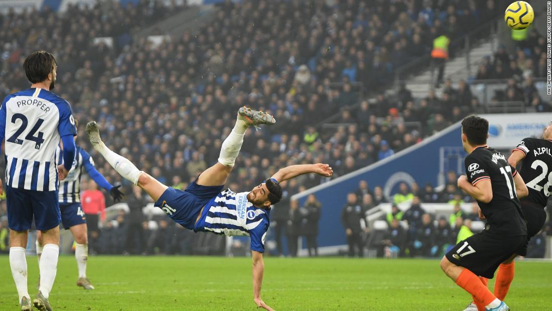 Photo of Iranian star Jahanbakhsh denies Chelsea with overhead marvel purpose