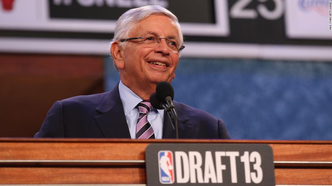 Photo of David Stern, former NBA commissioner, lifeless at 77