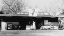 An undated photo of 7-Eleven. The first convenience store in America opened in 1927. Today, there are around 153,000 in the United States.