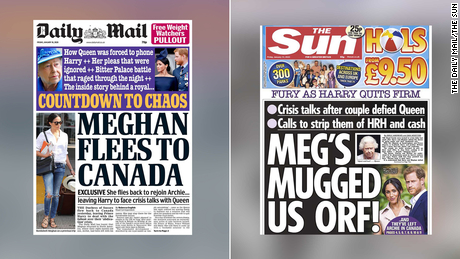 Britain's top tabloids were already going after Meghan. Now they're twisting the knife