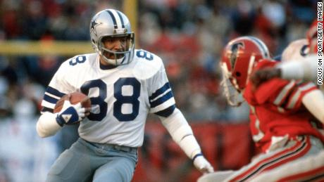 Pearson playing for the Cowboys in 1980.