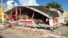 A destroyed home in Guánica.