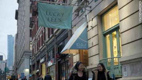 The Lucky Lee's restaurant in New York, on April 11, 2019.
