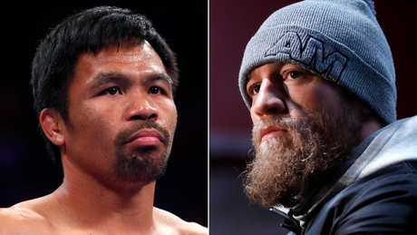 Conor McGregor wants boxing match with Manny Pacquiao to open new Las Vegas stadium