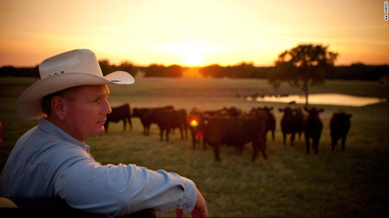 Bob McClaren, CEO of 44 Farms in Texas, is helping lead Walmart's effort to source its cattle for its new beef supply chain.