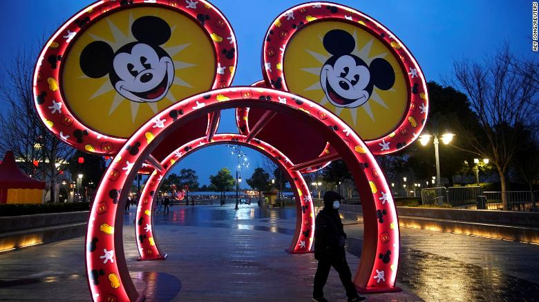 Disney could take a $280 million hit from its Chinese parks ...