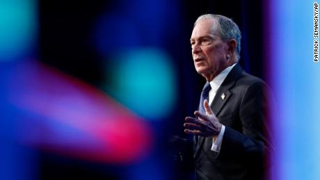 Democratic presidential candidate, former New York City Mayor Michael Bloomberg speaks at the U.S. Conference of Mayors' Winter Meeting, January 22, 2020, in Washington.