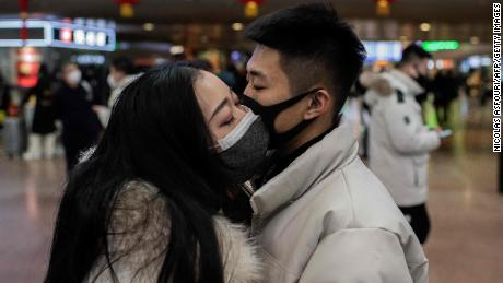 The United States organizes a charter flight to evacuate diplomats and American citizens out of China in the midst of the coronavirus epidemic