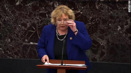 Democratic Rep. Zoe Lofgren quietly posts a massive report on social media about fellow Republicans who voted to overturn the election.