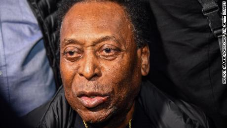 """Pele says his mental state is """"normal"""" for his age"""