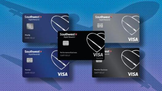 Southwest has three personal cards and two business cards, all of which have sign-up bonus offers.