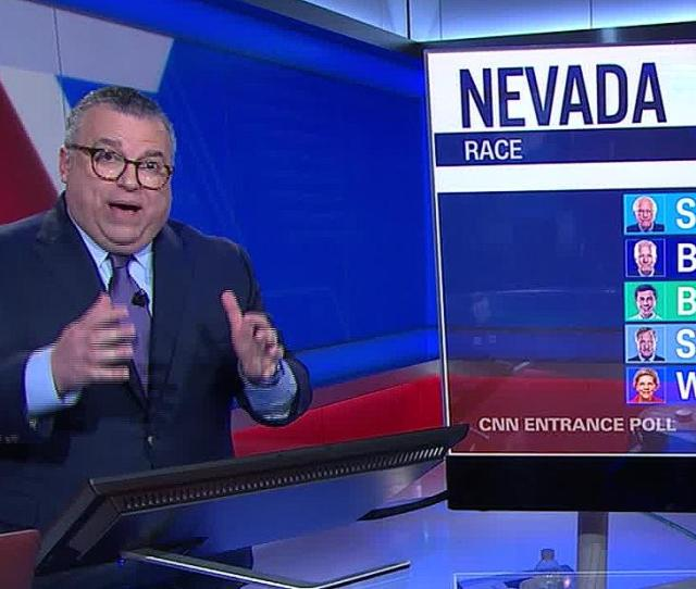 Cnns David Chalian Many Nevada Caucusgoers Are Late Deciders