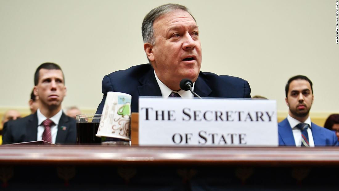 Pompeo clashes with Democrats over Iran and coronavirus