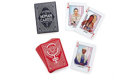 Uncommon Goods 'Woman Card' Playing Deck