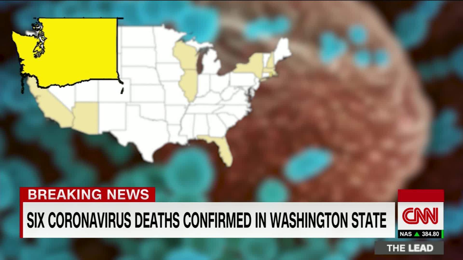 U.S. coronavirus death toll now at least 6, with more than 100 ...