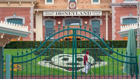 Disney's profit plunged 91% last quarter as its parks closed their doors