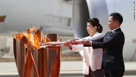 खेलों से पहले निर्धारित ओलंपिक मशाल जुलूस अब रद्द कर दिया गया है।