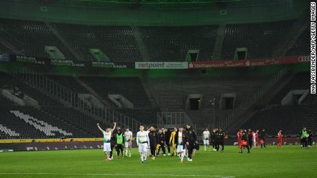 The German Bundesliga is set to return behind closed doors later this month.
