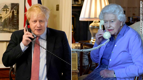 Boris Johnson had to talk to Queen early in pandemic, former adviser claims