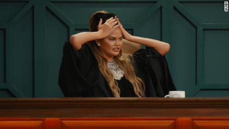 Chrissy Teigen in 'Chrissy's Court.'