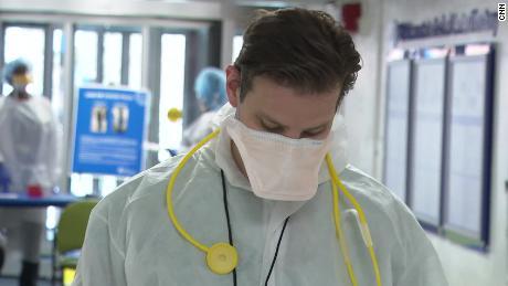 Inside an emergency room during the coronavirus epidemic