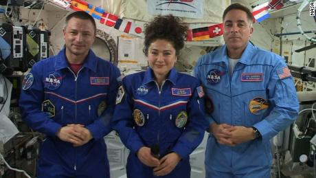 Being an astronaut during an epidemic: I think I would feel more isolated on Earth;
