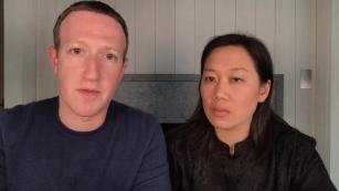 Mark Zuckerberg and Priscilla Chan say they are 'disgusted' by Trump's comments