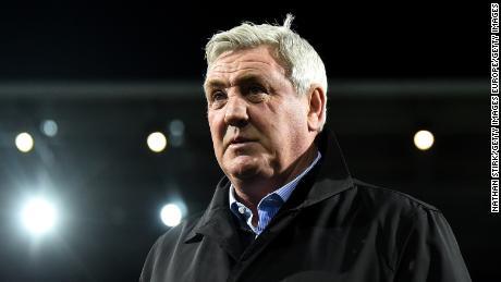 Steve Bruce ha preso la carica di Newcastle lo scorso anno.