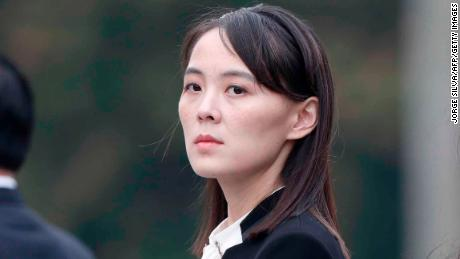 Kim Yo Jong attends wreath laying ceremony at Ho Chi Minh Mausoleum in Hanoi on March 2, 2019.