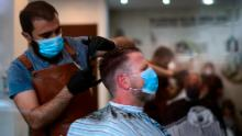 German hairdressers reopen after six weeks -- but in Berlin, you need to fill out a questionnaire to get a cut