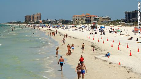 Just in time for summer, Florida is seeing an increase in cases of coronavirus. But there is also good news
