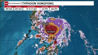 First Typhoon of 2020 Starts to Hammer the Philippines