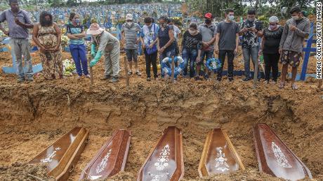 Brazil faces dark week as Covid-19 toll rises