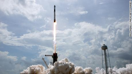 NASA astronauts on historic SpaceX mission aiming for return on August 2