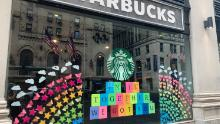 A Starbucks location photographed on June 3, 2020.