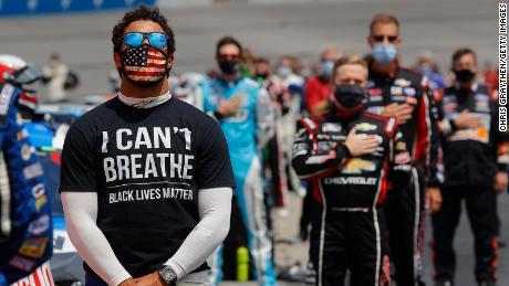 NASCAR legends voice support for George Floyd protests