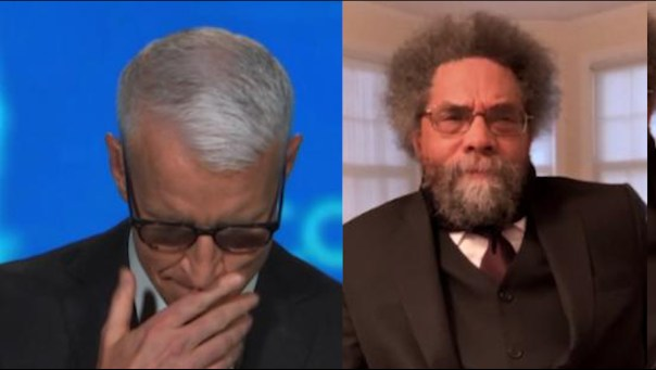 Anderson Cooper tears up over Cornel West's speech on Floyd family ...