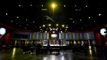A general view inside the UFC APEX prior to the UFC Fight Night event on May 30.