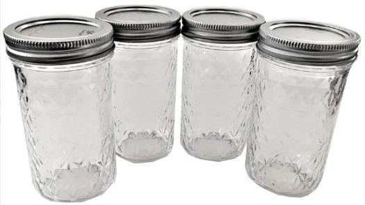Ball Mason Jelly Jars, Set of 4